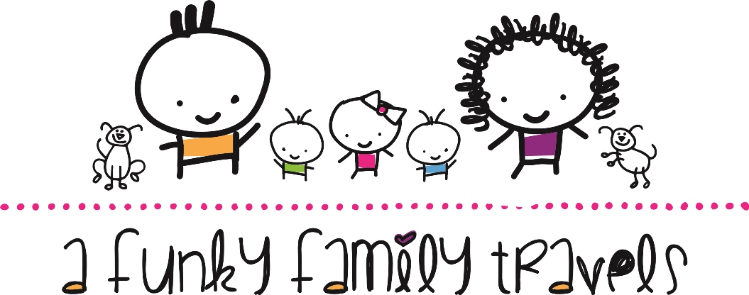 A Funky Family Travels logo
